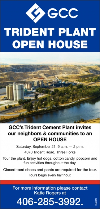 Trident Plant Open House