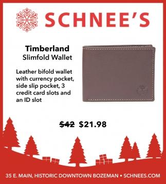 Timberland Slimfold Wallet