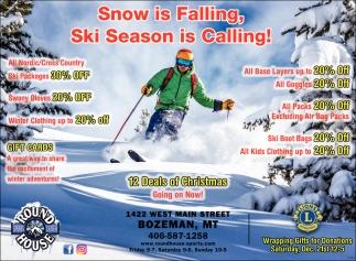 Ski Season is Calling