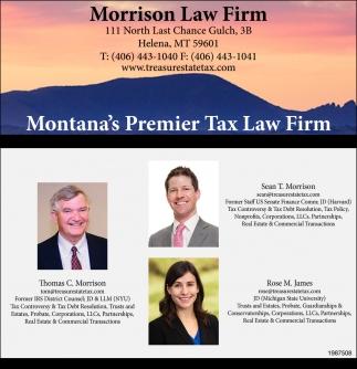 Montana's Premier Tax Law Firm