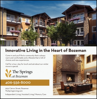 Innovative Living in the Heart of Bozeman