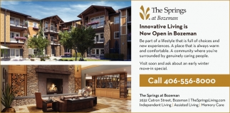Innovative Living is Now Open