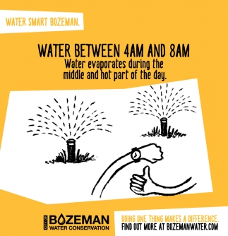 Water Between 4am and 8am