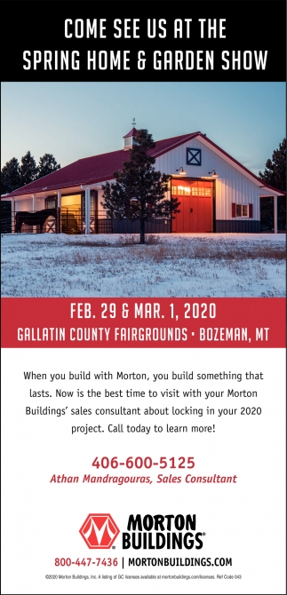 Come See Us at the Spring Home & Garden Show
