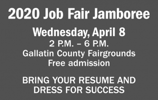 Bring your Resume and Dress for Success