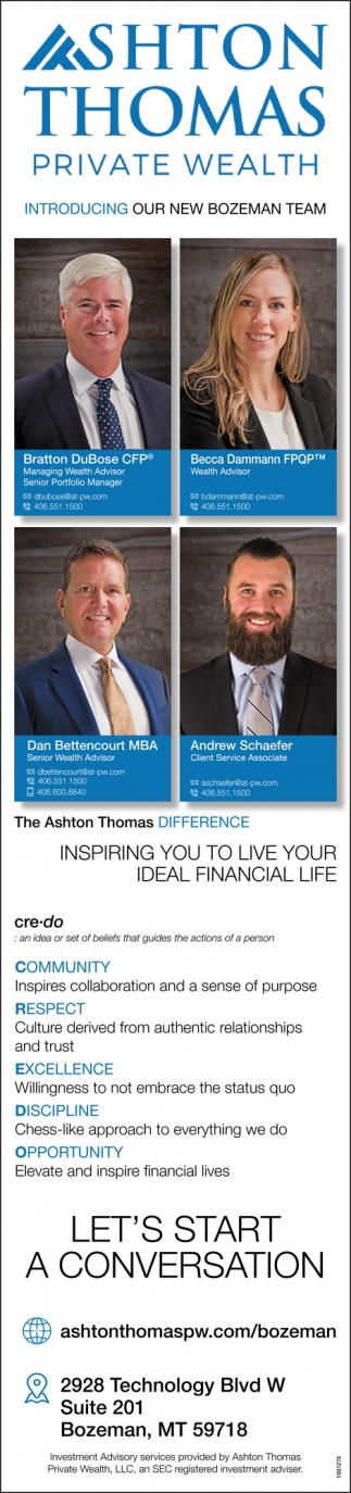 Inspiring you to Live your Ideal Financial Life