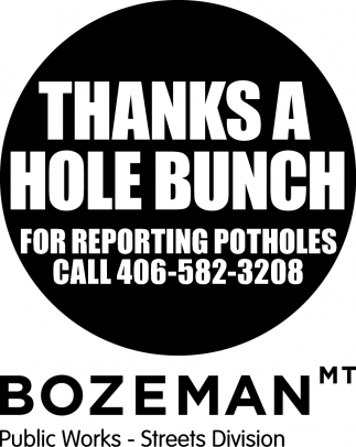 Thank a Hole Bunch