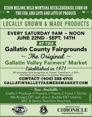 Locally Grown & Made Products