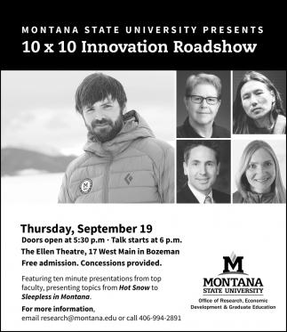 10x10 Innovation Roadshow